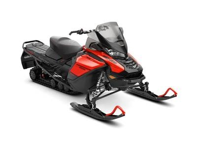 2019 Ski-Doo Renegade® Enduro™ 600R E-TEC Lava Red & Photo 1 sur 1