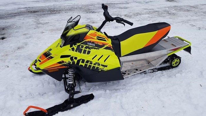 2020 Yamaha SNOWSCOOT ES/ SXR2NELY Photo 2 of 2