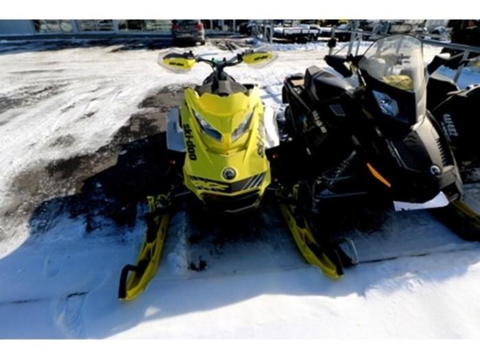 2019 Ski-Doo MXZ X-RS 850 E-TEC E.S. w/ Adj. Pkg, Ice Photo 2 of 9