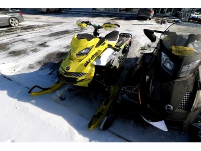 2019 Ski-Doo MXZ X-RS 850 E-TEC E.S. w/ Adj. Pkg, Ice Photo 3 of 9