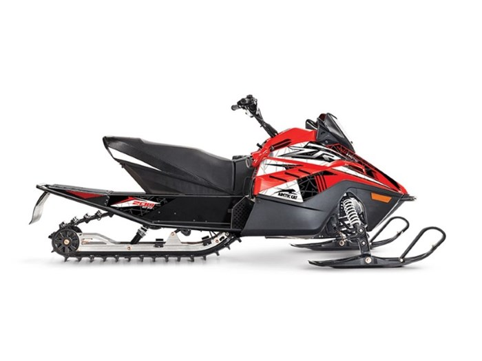 2021 Arctic Cat ZR 200 Fire Red Photo 1 of 1