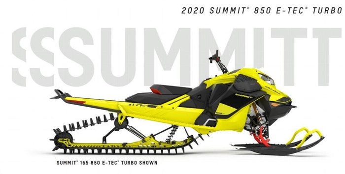 2020 Ski-Doo Summit® 850 E-TEC® Turbo Photo 1 of 3