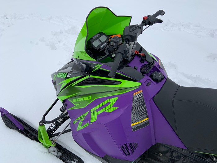 2019 Arctic Cat ZR 8000 Limited Edition Photo 11 of 14
