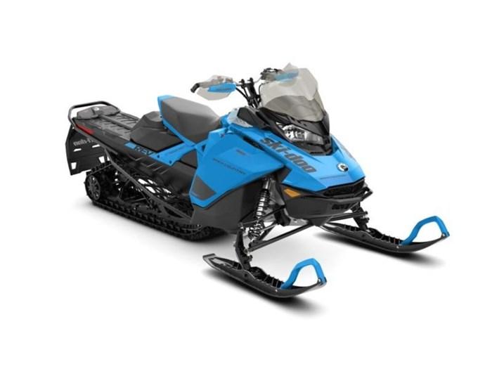 2020 Ski-Doo Backcountry™ Rotax® 850 E-TEC® Octane Blue / Black Photo 1 sur 1