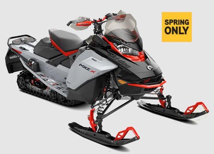 2022 Ski-Doo MXZ X ROTAX 850 E-TEC Photo 2 of 2