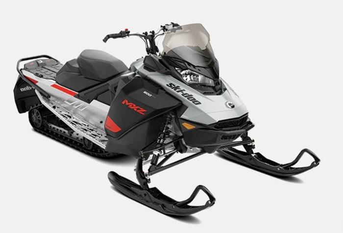 "2022 Ski-Doo MXZ Sport 600 EFI RipSaw 1.25"" E.S. Photo 2 of 2"