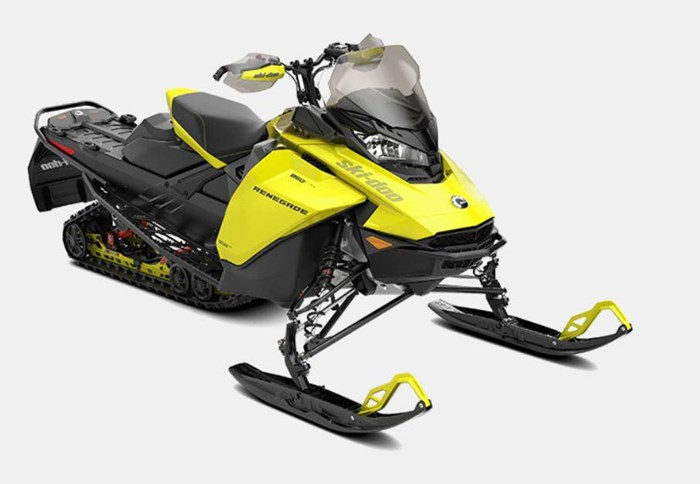"2022 Ski-Doo Renegade Adrenaline 600R E-TEC RipSaw 1.25"" E Photo 1 sur 2"