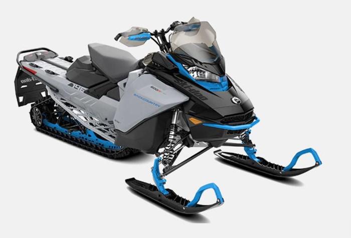 """2022 Ski-Doo Backcountry  850 E-TEC Cobra 1.6"""" E.S. Photo 2 of 2"""